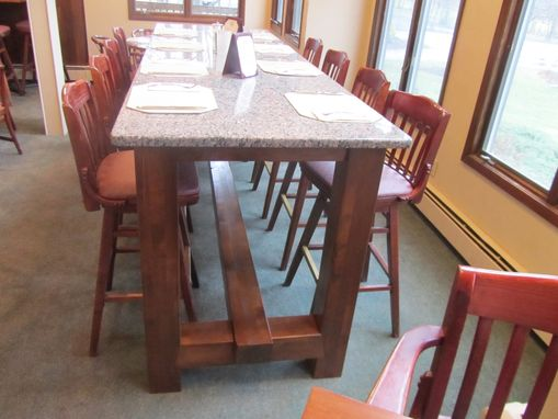 Custom Made Bowling Green Pub Table