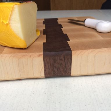 Custom Made Maple & Walnut End Grain Cutting Board