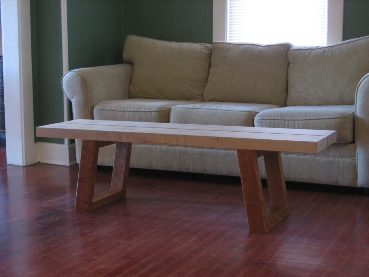 Murphy Coffee Table.Hand Crafted Coffee Table Bench By Joseph Murphy Furniture Maker