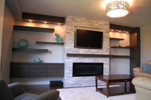 Custom Made Custom Modern Wall Unit