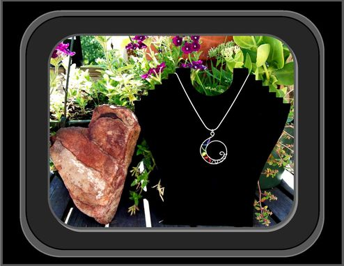 "Custom Made Sacred Spiral ""Chakra"" Healing Necklace"