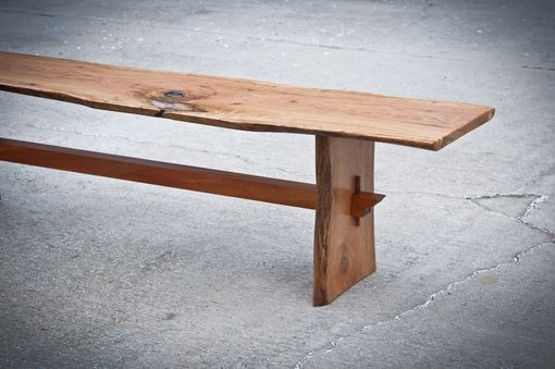 Custom Made Templo Live Edge Benches And Coffee Tables