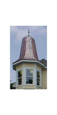 Custom Made Copper Spires & Domes