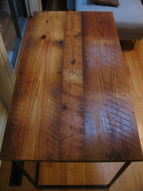 Buy A Handmade Reclaimed Pine Desk Made To Order From