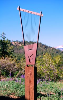 Custom Made Outdoor Metal Sound Sculpture