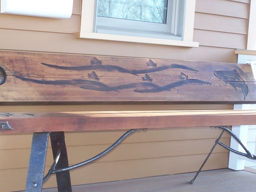 Custom Made Trout Unlimited Benches