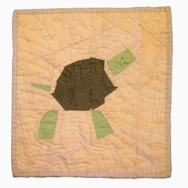 Custom Made Baby Quilt, Hand Quilted