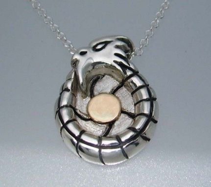 Custom Made Designed And Custom Made Ouroboros Dragon Pendants 1 Of 3 (Family Pendants)