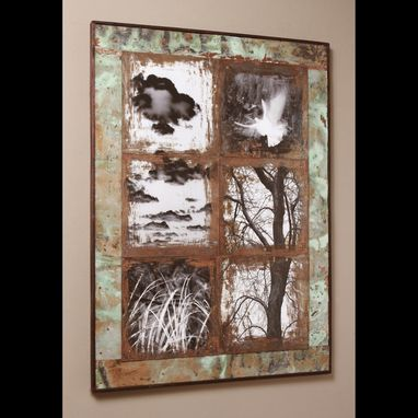 Custom Made Distressed Glass Photography