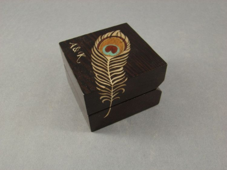 Handmade Engagement Ring Box By Mwb Studios Custommade Com