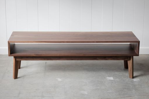 Custom Made Surround Coffee Table - Solid Walnut