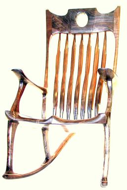 Custom Made 'Crown Jewel' Rocking Chair
