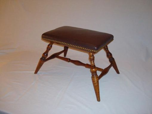 Custom Made Windsor Footstool