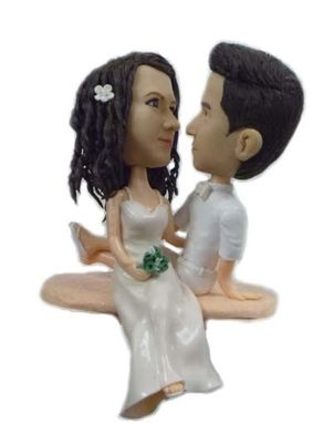 Custom Made Anniversary Cake Topper Made From Your Photo