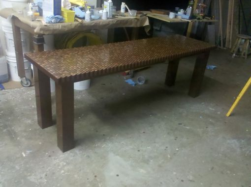 Custom Made Penny Table