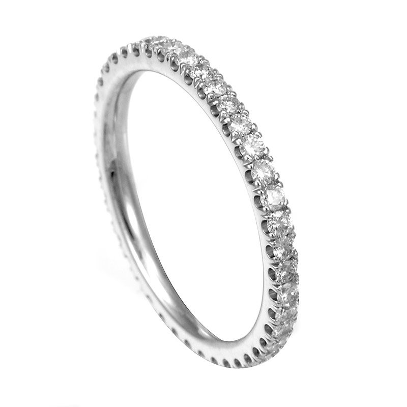 half views gold bands wedding ring and palladium aurus platinum pave rows pav eternity pn three micro rings diamond more