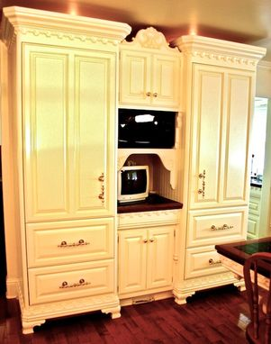Custom Made Queen Anne In White