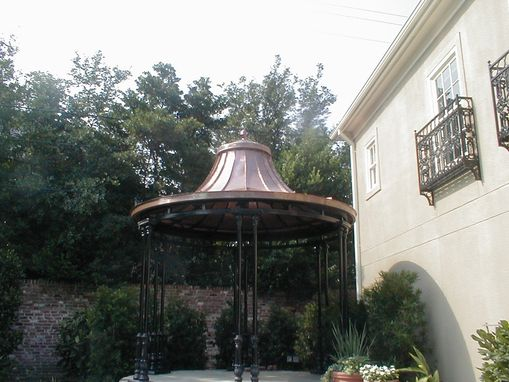 Custom Made Copper Gazebos
