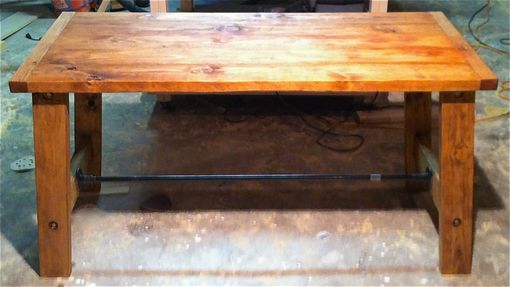 Custom Made Rustic Pine Desk