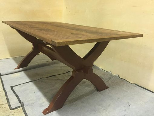 Custom Made Pennsylvania Sawbuck Table (38x 72)S