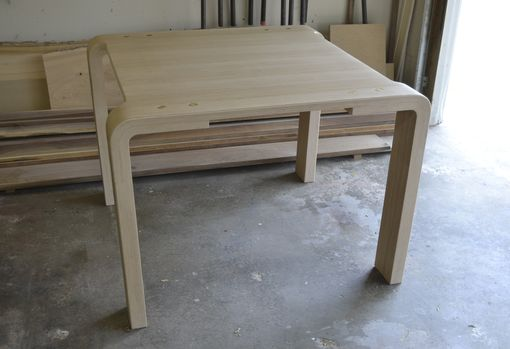Custom Made Bent Lamination Dinning Table