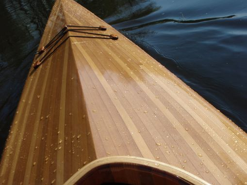 Custom Made The Thunder Bay, Cedar Strip Kayak