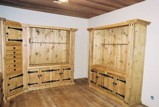 Custom Made Gun Cabinets