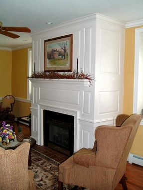 Custom Made Raised Panel Fireplace Surround.