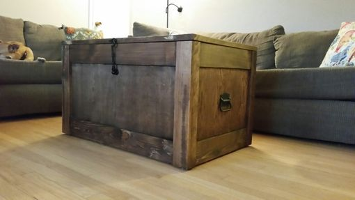 Custom Made Barnwood, Trunks, Chests, Steamer Trunk, Trunk Coffee Table, Storage Trunk, Wooden Trunk, Trunk