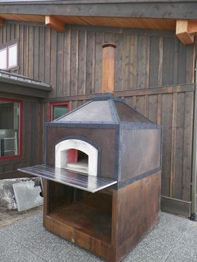 Custom Made Wood Fired Pizza Oven