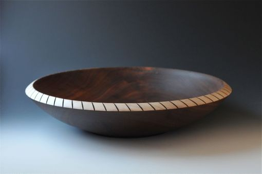 Custom Made Large Wood Salad Bowl