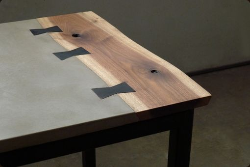"Custom Made ""Piper"" Concrete Desk"