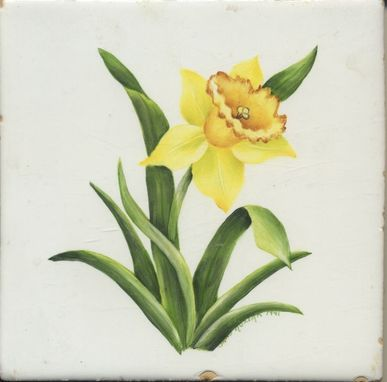 Custom Made Yellow Daffodil