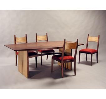 Custom Made Meander Dining Table And Chairs