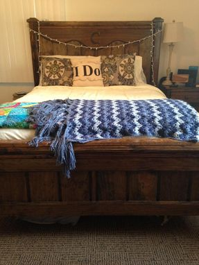 Custom Made Farmhouse Bed