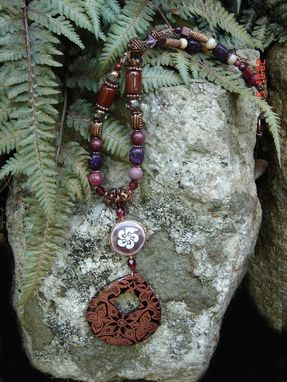 Custom Made Tab Shell Autumn Necklace