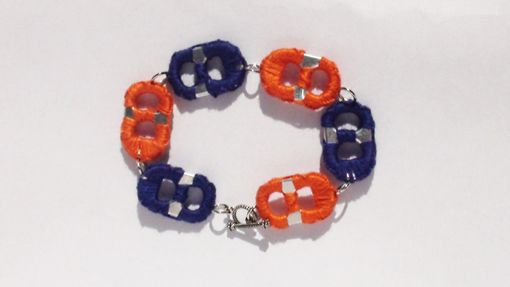 Custom Made Hand Sewn Pop Tab Bracelets, Sports, Seasonal, Etc.