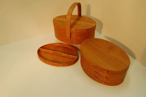 Custom Made Shaker Oval Boxes
