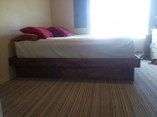 Custom Made Platform Beds