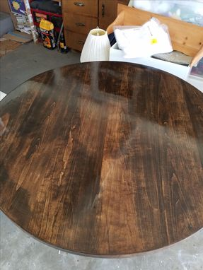Custom Made 5 Foot Round Dining Table