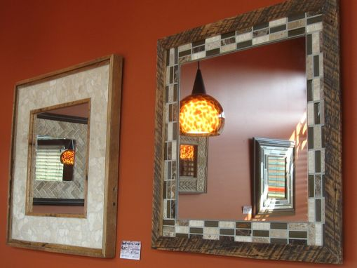 Custom Made Decorative Tile And Mosaic Mirrors