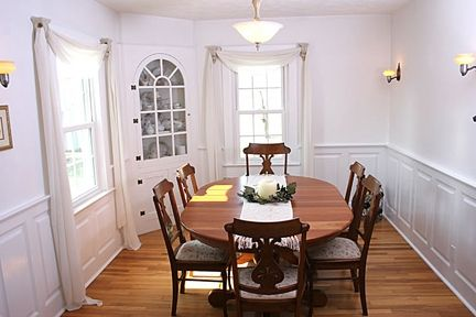 Dining Room Custom Wainscoting Oxford Style