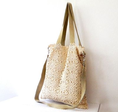 Custom Made Handmade Crochet Handbag