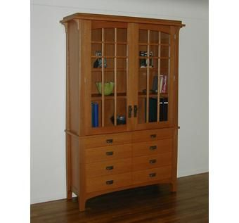 Custom Made Lawyer's Armoire