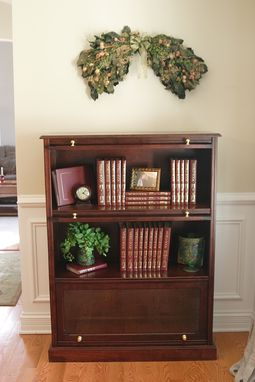 Custom Made Barrister's Bookcase