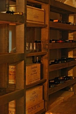 Custom Made European Wine Cellar