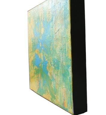 Custom Made Abstract Painting Gold Vein