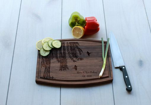 Custom Made Personalized Cutting Board, Engraved Cutting Board, Custom Wedding Gift – Cba-Wal-Anne Ben Perkins