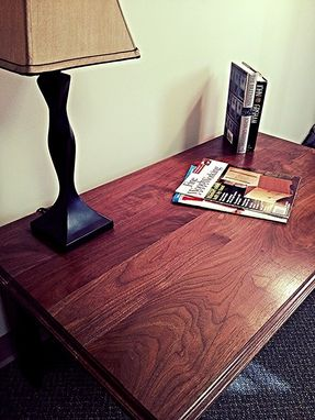 Custom Made Black Walnut / Hickory Coffee Table