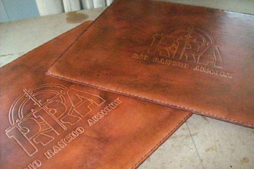 Custom Made Custom Leather Pad/Mat